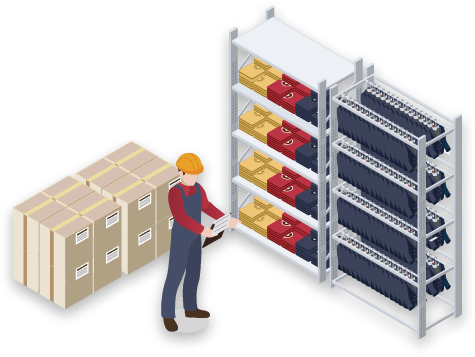 Quick and secure goods acceptance