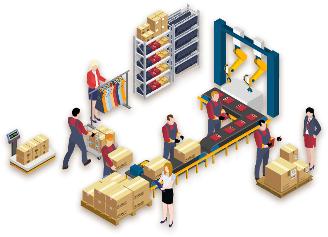 Warehousing and shipping as a service